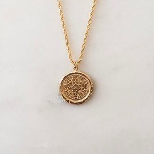 Celtic Coin Necklace